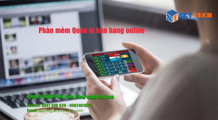 Phần mềm quản lý bán hàng online